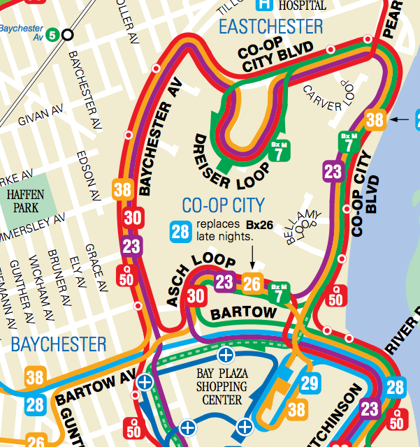 By Mta Bus Transit Map