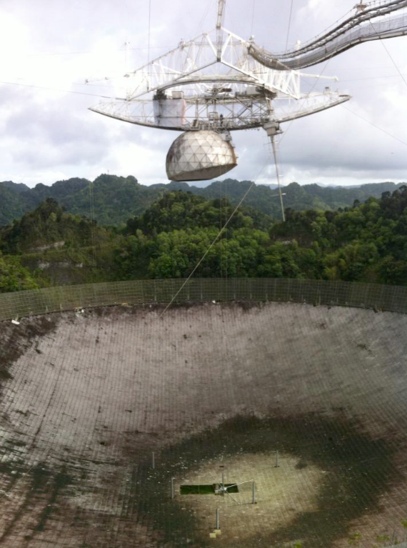 The Aricebo Observatory in Puerto Rico