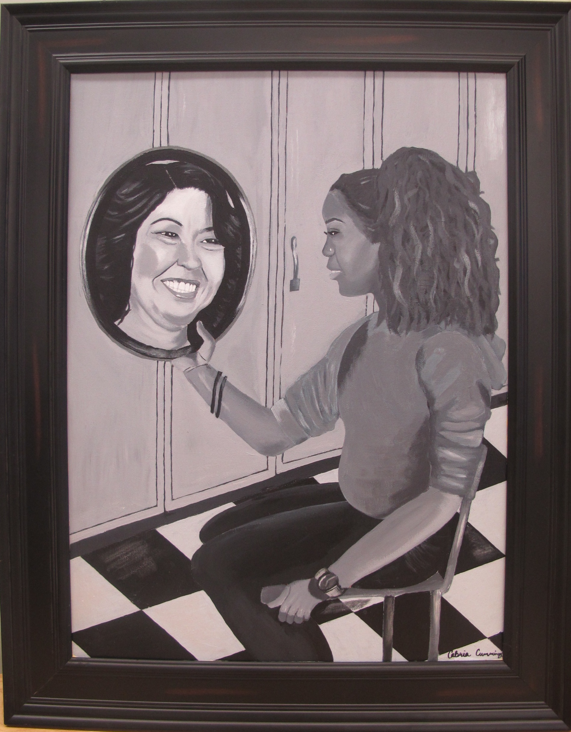 Student Wins Congressional Art Contest (Video)