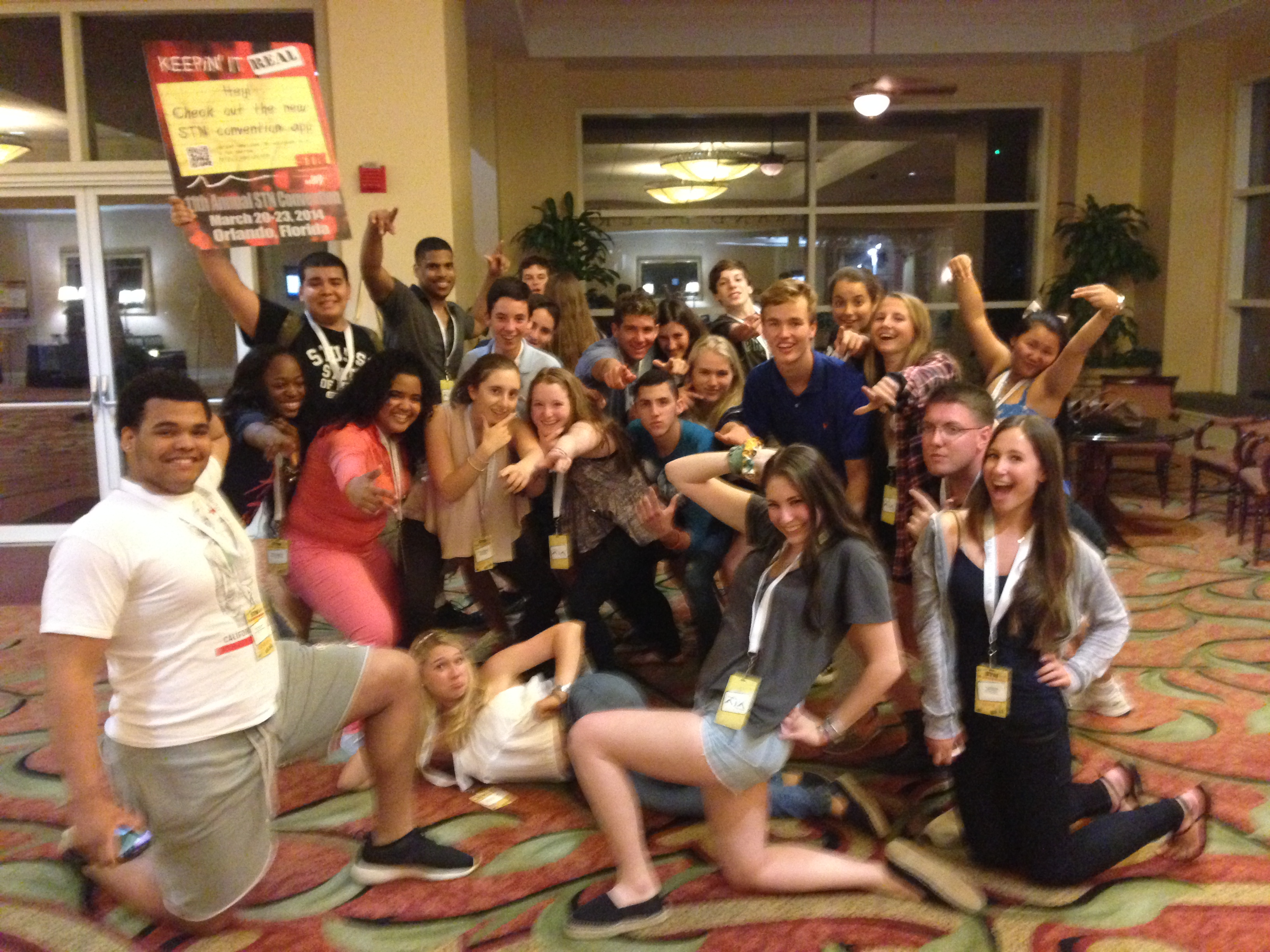 Media Students Attend Stn National Convention In Orlando