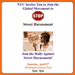 Join RAPP and buildOn at the Rally Against Street Harassment