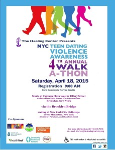 NYC 2015 Teen Dating Violence Flyer