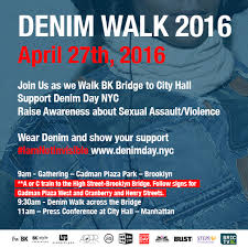 Denim Day Rally at City Hall