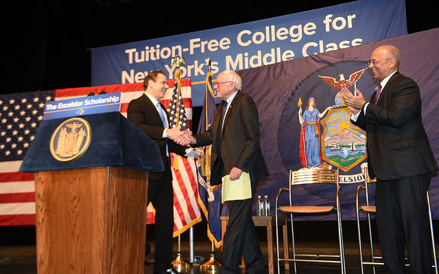 Gov. Cuomo Proposes Free College for New York's Middle Class