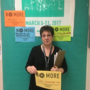 Guidance Counselor Ms. Pinto Says No More