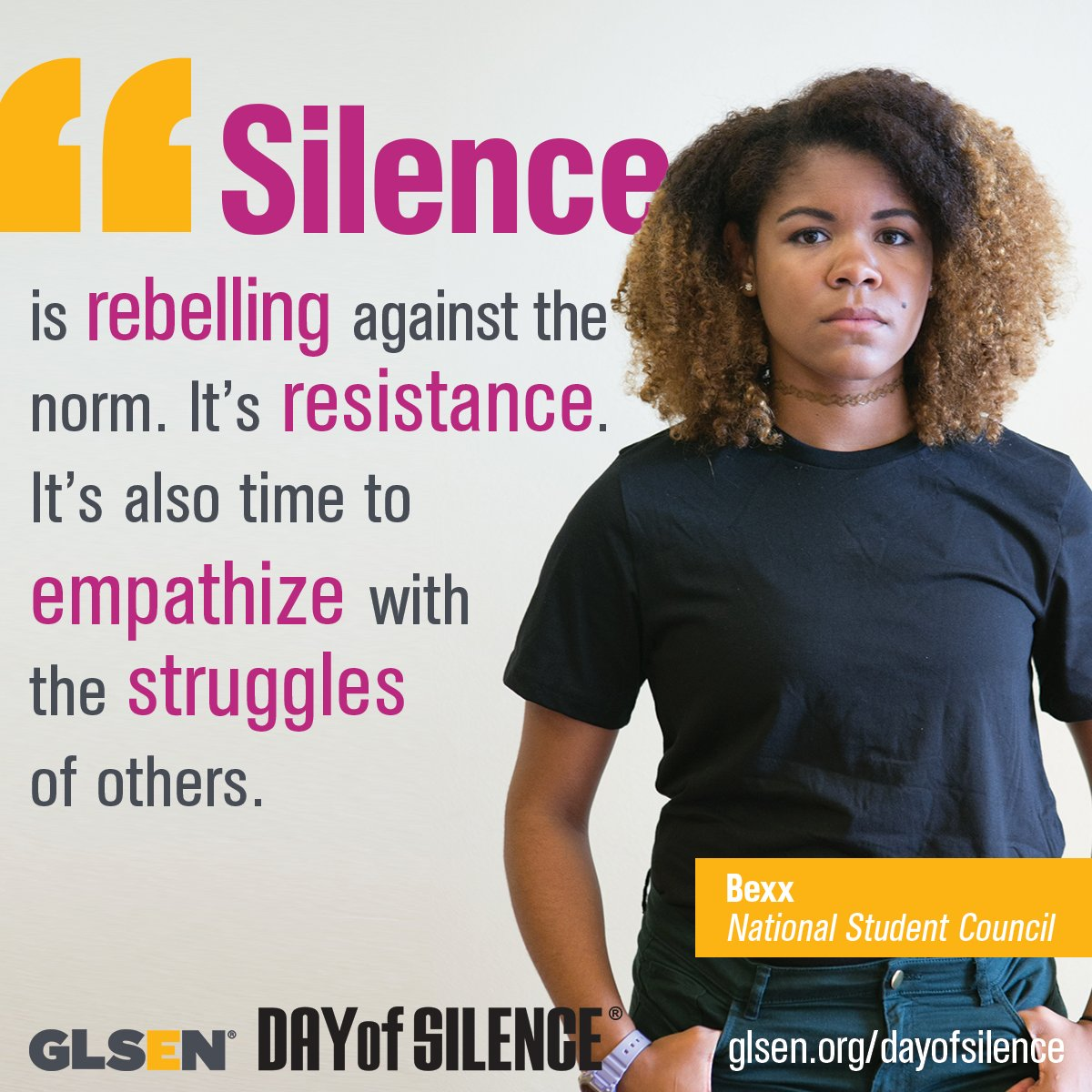 from Stetson national day of silence gay