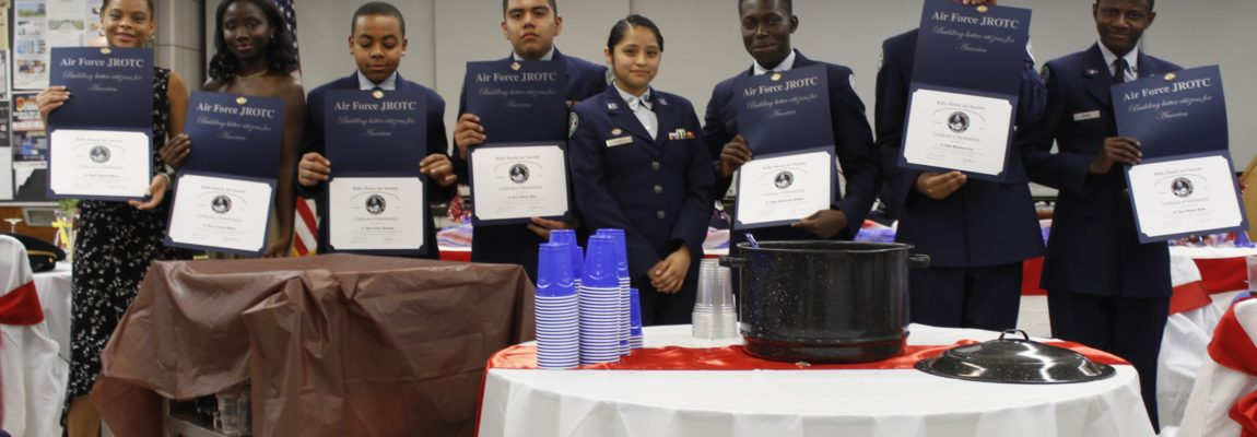 Air Force JROTC Holds Military Ball & Dining Out