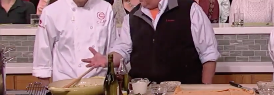 "Culinary Student Appears on ""The Chew"""