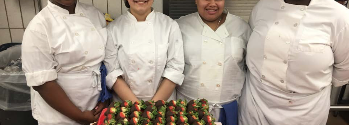 Culinary Students Cater MS 181 Winter Carnival