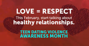 Dating violence can