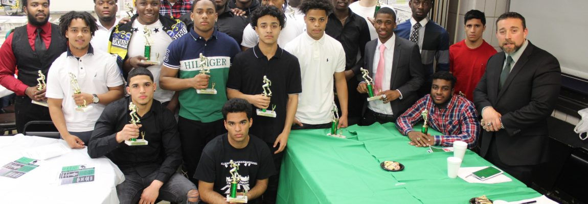 Football Team Hosts Annual Awards Dinner