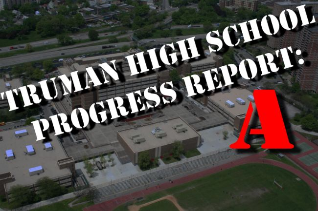 "City releases 2011-2012 Progress Reports: Truman Brings Home an ""A"""