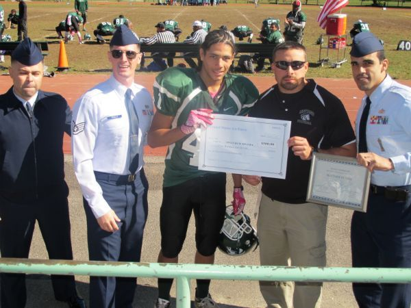Matt Rivera Honored with Scholarship