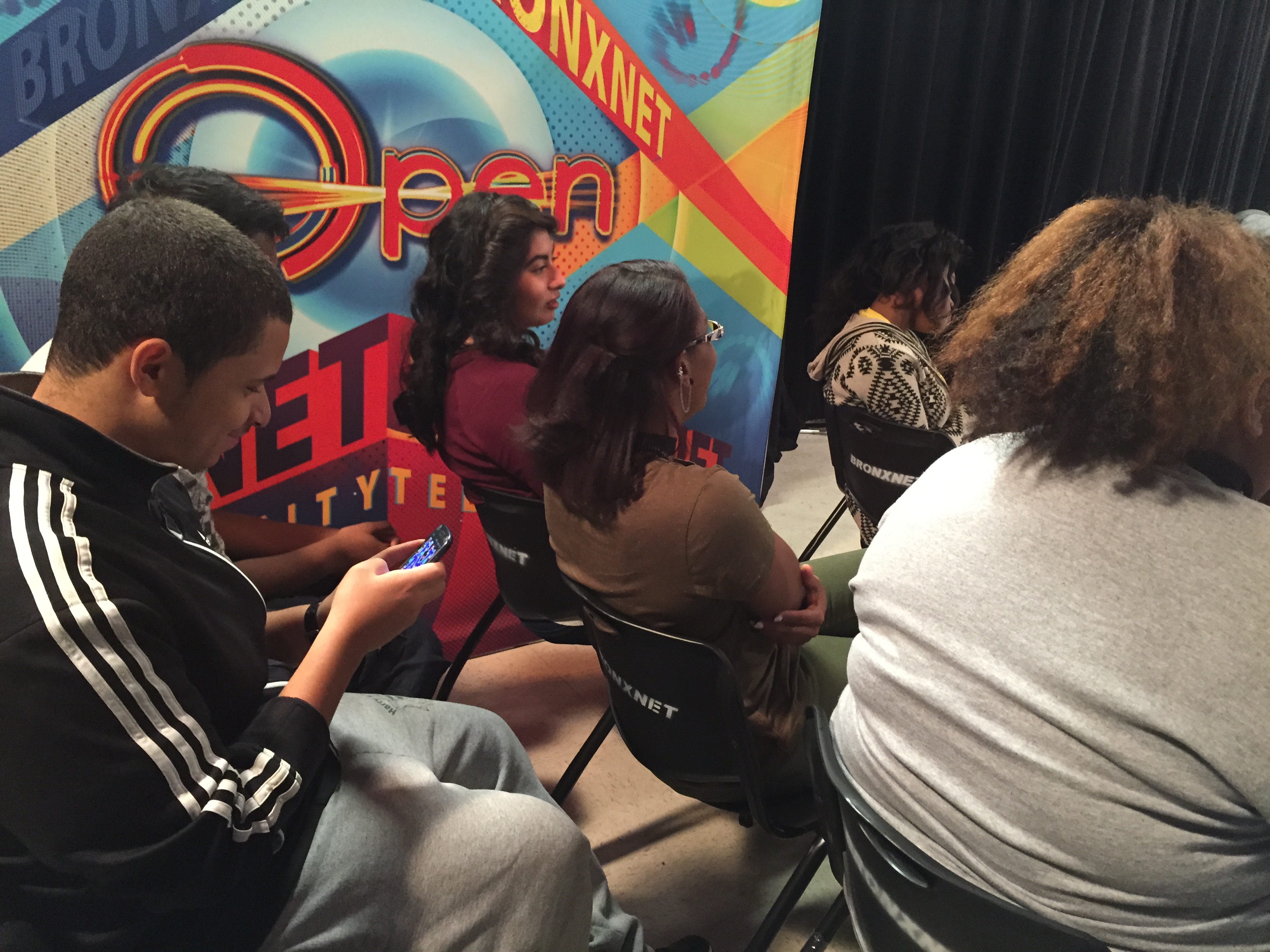 Students Participate In Special Tv Broadcast About Teen