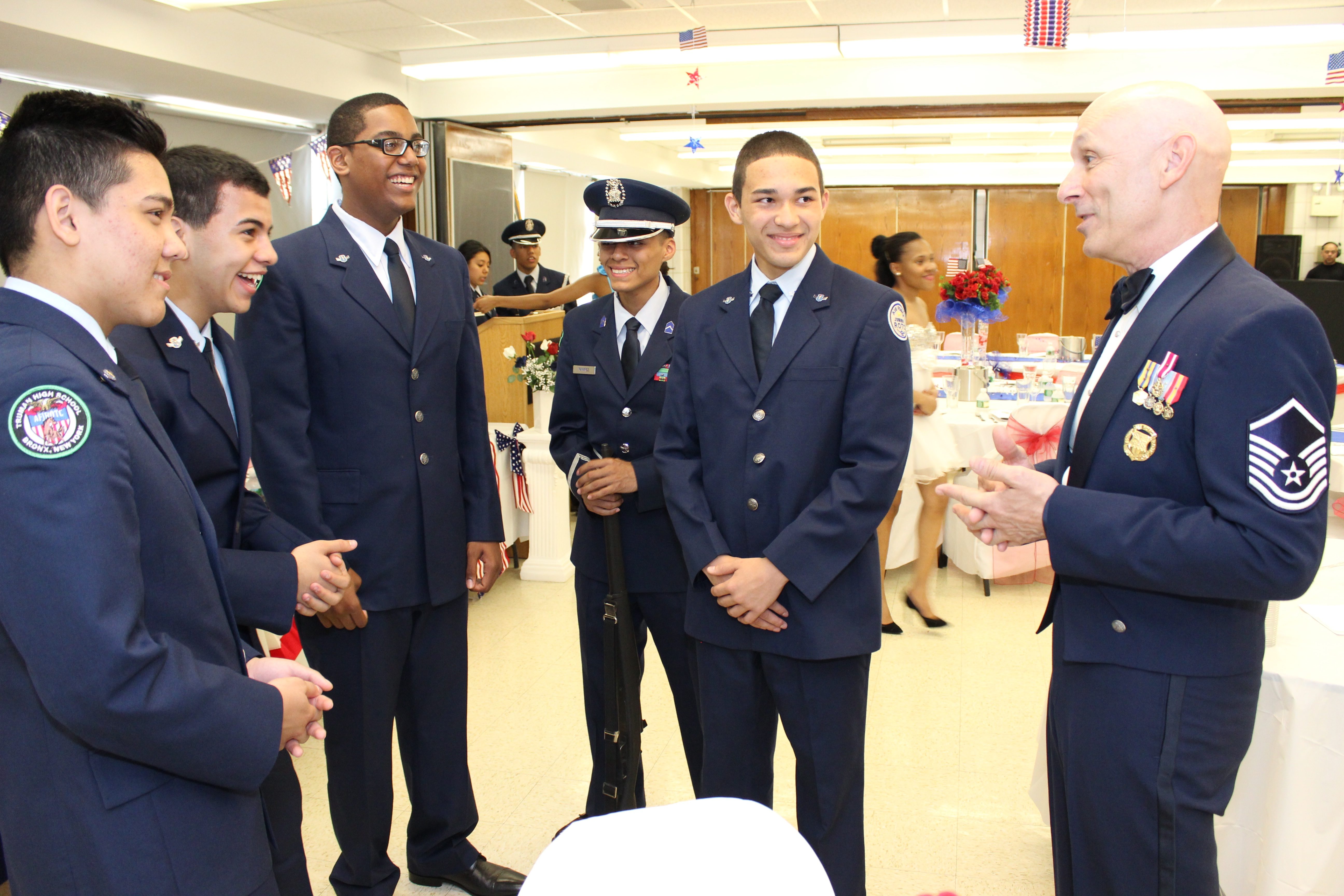 Air Force Jrotc Program Hosts Military Ball And Dining Out